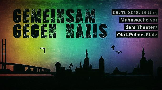 banner_gemeinsamgegennazis_09.11.2018_stralsund