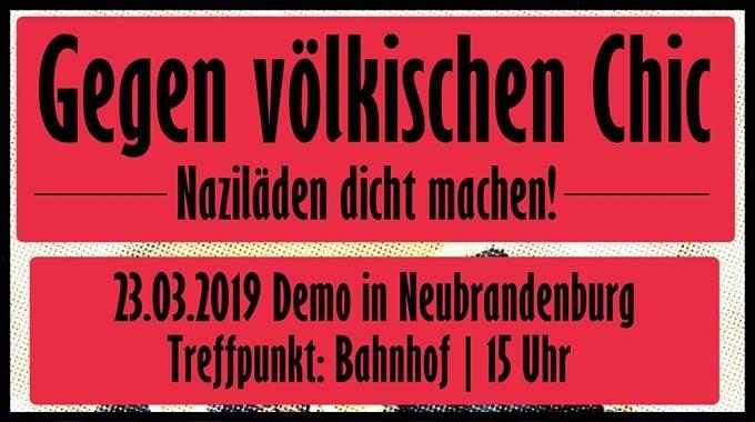 banner_demogegentsladen_23.03.19_neubrandenburg